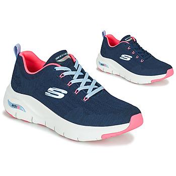 Pantofi Femei Pantofi sport Casual Skechers ARCH FIT Albastru / Roz