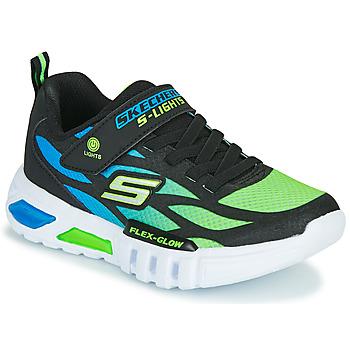 Pantofi Băieți Pantofi sport Casual Skechers FLEX-GLOW Negru / Albastru / Verde