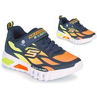 Pantofi Băieți Pantofi sport Casual Skechers FLEX-GLOW Albastru / Portocaliu