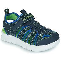 Pantofi Băieți Sandale sport Skechers C-FLEX SANDAL 2.0 Albastru / Verde