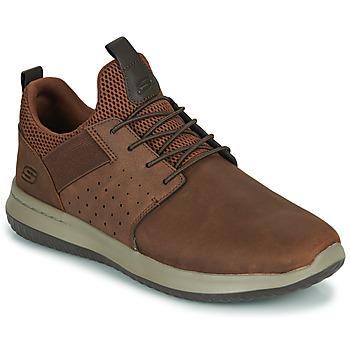 Pantofi Bărbați Pantofi sport Casual Skechers DELSON AXTON Maro
