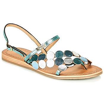 Pantofi Femei Sandale  Les Tropéziennes par M Belarbi HOLO Argintiu / Albastru