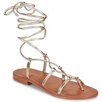 Pantofi Femei Sandale  Les Tropéziennes par M Belarbi HELLEN Auriu