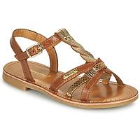 Pantofi Fete Sandale  Les Tropéziennes par M Belarbi BADAMI Camel / Auriu