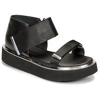 Pantofi Femei Sandale  United nude VITA SANDAL LO Negru