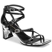 Pantofi Femei Sandale  United nude MOLTEN STRAPPY MID Negru
