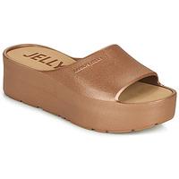 Pantofi Femei Papuci de vară Lemon Jelly SUNNY Auriu