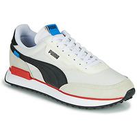 Pantofi Bărbați Pantofi sport Casual Puma FUTURE RIDER PLAY ON Alb / Negru / Roșu