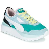 Pantofi Femei Pantofi sport Casual Puma CRUISE RIDER SILK Albastru / Alb / Negru