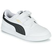 Pantofi Copii Pantofi sport Casual Puma SHUFFLE PS Alb / Negru