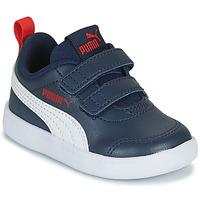Pantofi Copii Pantofi sport Casual Puma COURTFLEX INF Albastru