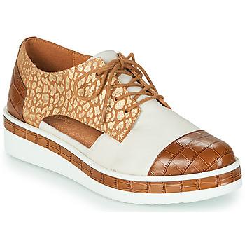 Pantofi Femei Pantofi Derby Mam'Zelle KIGALI Alb / Maro