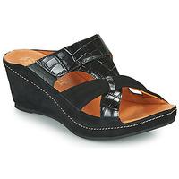 Pantofi Femei Papuci de vară Mam'Zelle DINAMO Negru