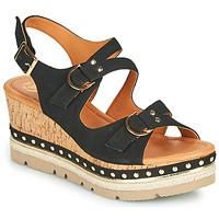 Pantofi Femei Sandale  Mam'Zelle PAPOTE Negru