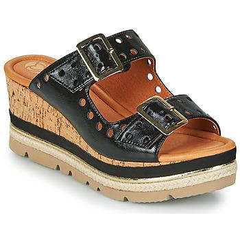 Pantofi Femei Papuci de vară Mam'Zelle PULSE Negru