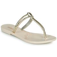 Pantofi Femei Papuci de vară Melissa ASTRAL CHROME AD Bej