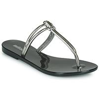 Pantofi Femei Papuci de vară Melissa ASTRAL CHROME AD Negru