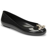 Pantofi Femei Balerin și Balerini cu curea Melissa VIVIENNE WESTWOOD ANGLOMANIA - SWEET LOVE II Negru