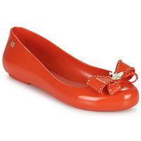 Pantofi Femei Balerin și Balerini cu curea Melissa VIVIENNE WESTWOOD ANGLOMANIA - SWEET LOVE II Roșu