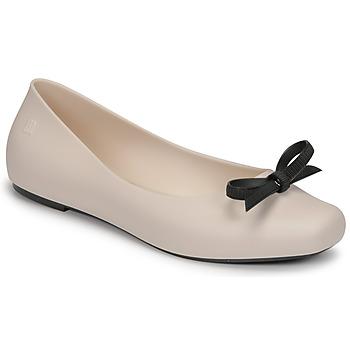 Pantofi Femei Balerin și Balerini cu curea Melissa AURA - JASON WU AD Bej
