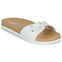 Pantofi Femei Papuci de vară Melissa WIDE SLIDE AD Alb