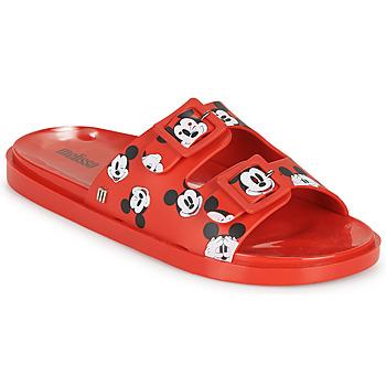Pantofi Femei Papuci de vară Melissa WIDE - MICKEY & FRIENDS AD Roșu