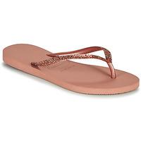 Pantofi Femei  Flip-Flops Havaianas SLIM GLITTER II Roz