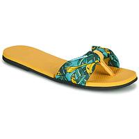 Pantofi Femei  Flip-Flops Havaianas YOU SAINT TROPEZ Galben / Auriu