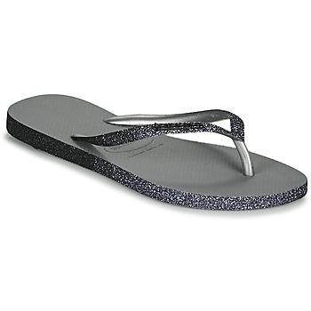 Pantofi Femei  Flip-Flops Havaianas SLIM SPARKLE II Gri