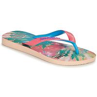 Pantofi Femei  Flip-Flops Havaianas TOP FASHION Roz