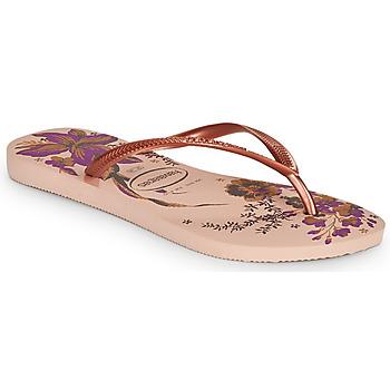 Pantofi Femei  Flip-Flops Havaianas SLIM ORGANIC Roz