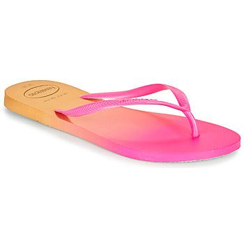 Pantofi Femei  Flip-Flops Havaianas SLIM GRADIENT Roz / Galben