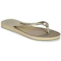 Pantofi Femei  Flip-Flops Havaianas SLIM PALETTE GLOW Bej