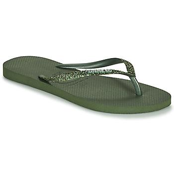Pantofi Femei  Flip-Flops Havaianas SLIM GLITTER II Verde