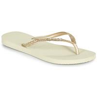 Pantofi Femei  Flip-Flops Havaianas SLIM GLITTER II Bej