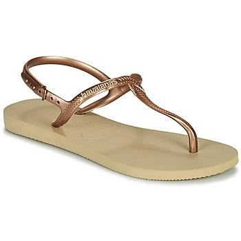 Pantofi Femei Sandale  Havaianas TWIST Bej