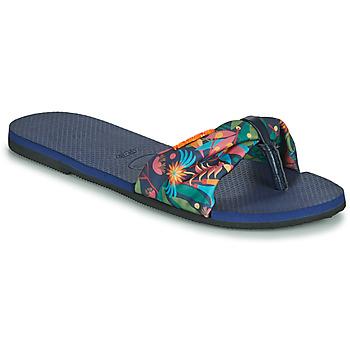 Pantofi Femei  Flip-Flops Havaianas YOU SAINT TROPEZ Albastru