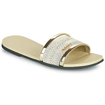 Pantofi Femei Sandale  Havaianas YOU TRANCOSO PREMIUM Bej