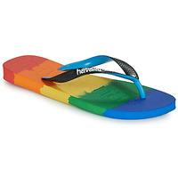 Pantofi  Flip-Flops Havaianas TOP LOGOMANIA MULTICOLOR Multicolor