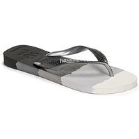 Pantofi  Flip-Flops Havaianas TOP LOGOMANIA MULTICOLOR Negru