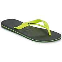 Pantofi Bărbați  Flip-Flops Havaianas BRASIL LOGO Gri
