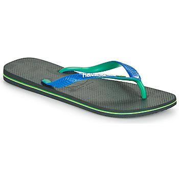 Pantofi  Flip-Flops Havaianas BRASIL MIX Negru / Albastru