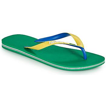 Pantofi Bărbați  Flip-Flops Havaianas BRASIL MIX Verde