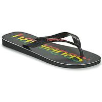 Pantofi Bărbați  Flip-Flops Havaianas TOP LOGOMANIA Negru