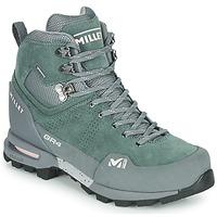Pantofi Femei Drumetie și trekking Millet GR4 GORETEX Verde / Negru