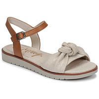 Pantofi Femei Sandale  MTNG 50506 Bej