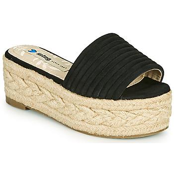 Pantofi Femei Papuci de vară MTNG 51118 Negru