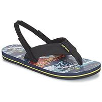 Pantofi Băieți  Flip-Flops Rip Curl RIPPER KIDS Negru / Portocaliu