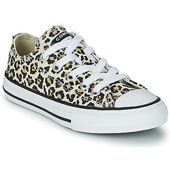 Pantofi Fete Pantofi sport Casual Converse CHUCK TAYLOR OX Leopard /  multicolor