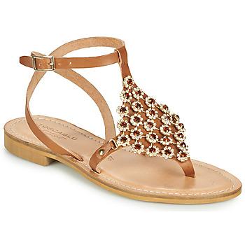 Pantofi Femei Sandale  Tosca Blu PERLA Camel